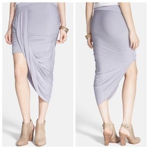 Free People Twist and Shout Asymmetrical Skirt